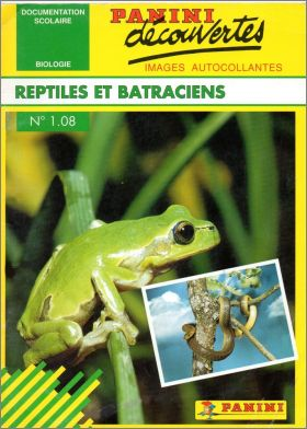 N° 1.08 : Reptiles Et Batraciens - France