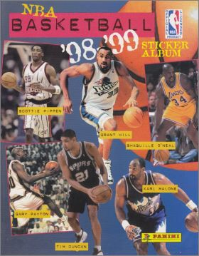 NBA Basketball 98-99 - Panini