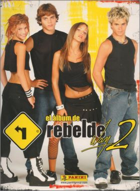 Rebelde Way 2 - Sticker Album - Panini - Espagne