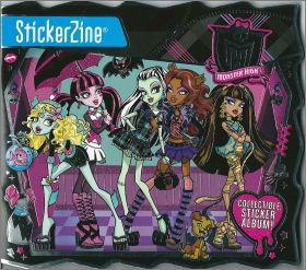 Monster High - Stickerzine - Collectible sticker album