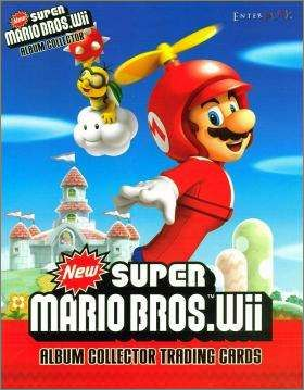 New super Mario.WII - Nintendo - Trading cards allemandes