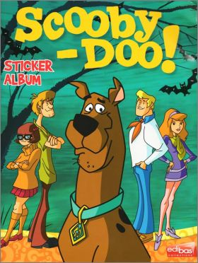 Scooby-doo - Sticker Album - Edibas - Italie - 2012