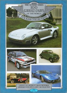 100 Great Cars of the World - Euroflash - Angleterre
