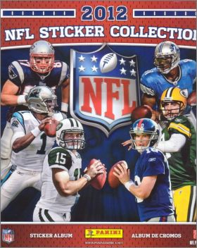 NFL 2012 sticker collection  -  Panini - USA -  Canada