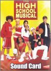 High School Musical - Sound Card - Lamincards Edibas Italie