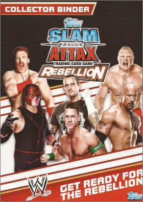 WWE - Slam Attax - Rebellion - Trading Card Game