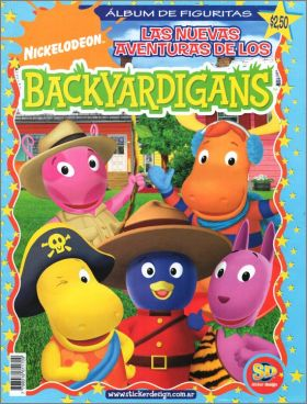 Los Backyardigans - SD (Sticker design) - Argentine