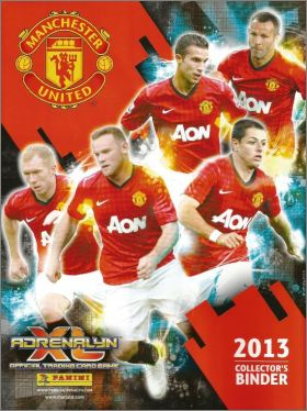 Manchester Utd Adrenalyn XL 2013 - Trading Card - Angleterre