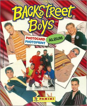 Backstreet Boys - Photocard album - France