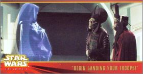 Star Wars - Episode 1 S�rie 1 - Cards Widevision - Topps