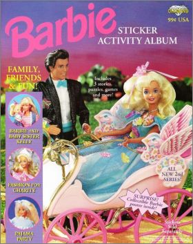 Barbie Family, Friends & Fun - Diamond - USA