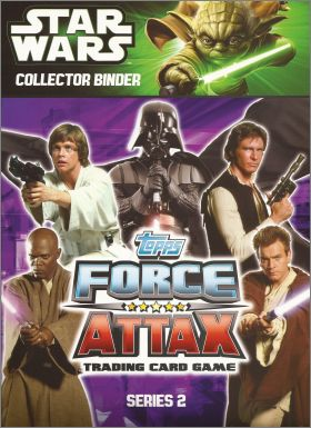 Star Wars Force Attax Movie - Serie 2 - Topps - Anglais