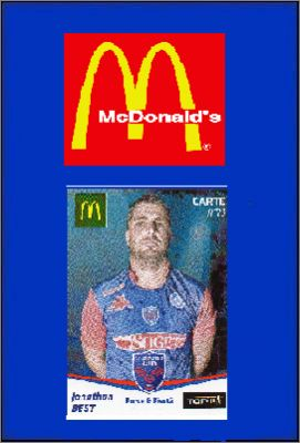 FC Grenoble Rugby 2012 / 2013 - Mc Donald's