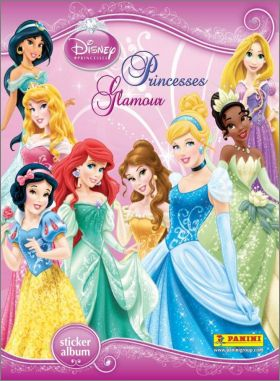 Princesses Glamour Disney Princess - Sticker Album - Panini