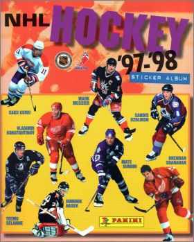 NHL Hockey '97-'98 -Album sticker Panini 1997 - Suisse