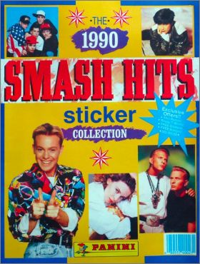 The Smash Hits Collection 1990 - Panini - Angleterre