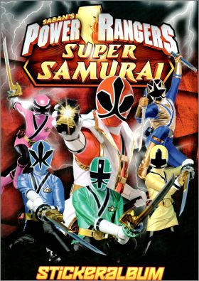 Power Rangers Super Samurai - Blue ocean - Allemagne - 2013