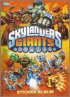 Skylanders Giants - Sticker Album - Topps - 2013