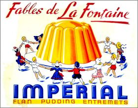 Fables de La Fontaine - Album d'images N°1 - Imperial - 1968