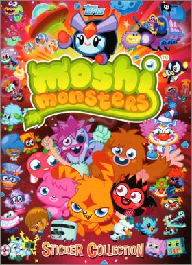 Moshi Monsters (2013) - Stickers Album - Topps - Angleterre