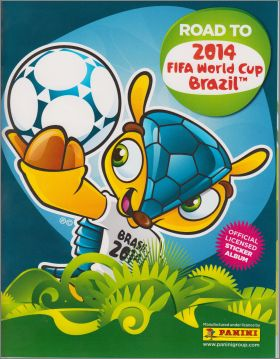 Road to 2014 FIFA World Cup Brazil / Coupe du Monde - Panini