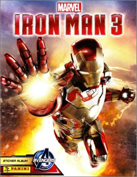 Iron Man 3 - Marvel - Sticker Album - Panini - 2013