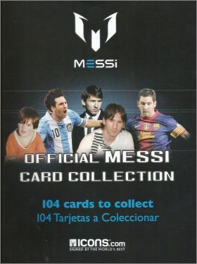 Messi - Official Card Collection - Icons - Espagne