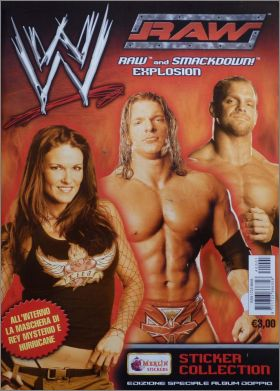 WWE raw and smackdown explosion - Merlin - 2004