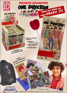 One Direction - Stickers tissus (Transfert) - Brabo France