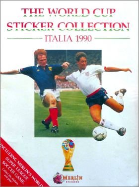 The World Cup Stickers collection - Italia 1990 - Merlin