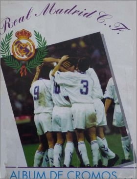 Real Madrid C.F. - Album de cromos - Magic box - 1996
