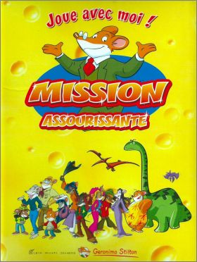 Mission assourissante Géronimo Stilton Albin Michel Jeunesse