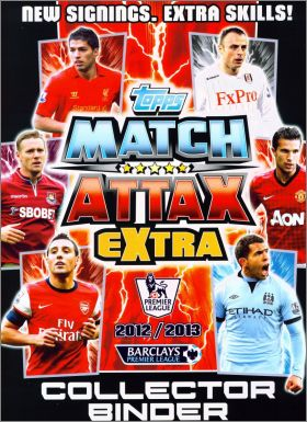 Match Attax Extra Premier League 2012 / 2013 - Trading Cards