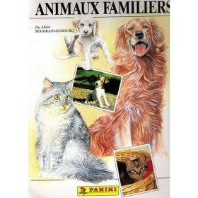 Animaux Familiers - Sticker Album - Panini - 1989