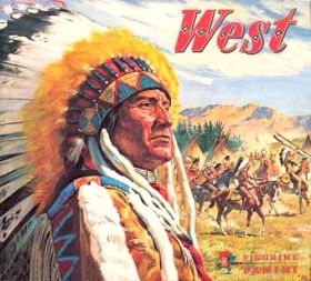 West (1976) - Figurine Panini