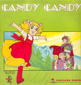 Candy Candy - Sticker Album - Figurine Panini - 1980
