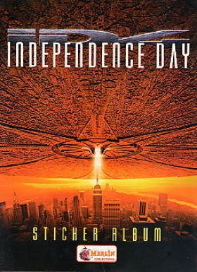Independence Day - Sticker Album - Merlin - 1996