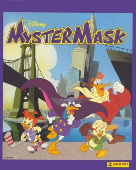 Myster Mask - Disney - Sticker Album - Panini - 1993