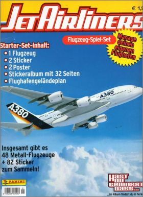 Jet Airliners - Sticker Album - Panini - Allemagne - 2004