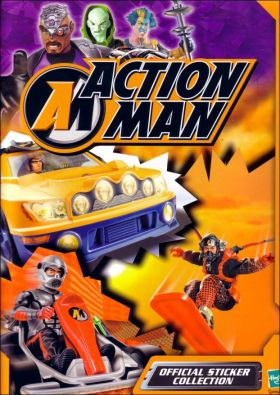 Action Man - Sticker Album (Magic Box Int) - 2002