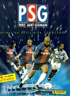 PSG - Paris Saint Germain 2000 - 2001 - Panini - France