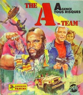 Agence Tous Risques / The A Team (Figurine Panini)