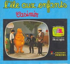 L'Ile aux Enfants - Casimir - Figurine Panini - France