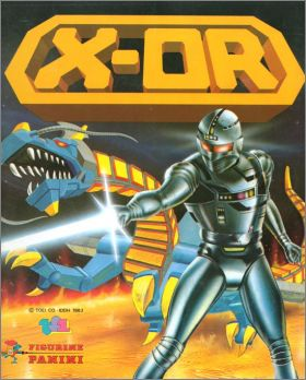 X-OR - Sticker Album - Figurine Panini - 1984