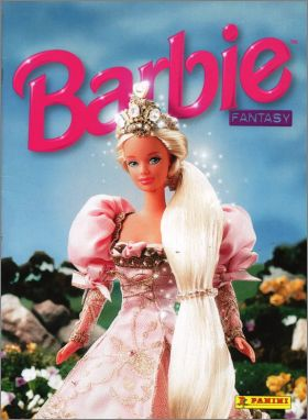 Barbie Fantasy - Sticker Album - Panini - 1998