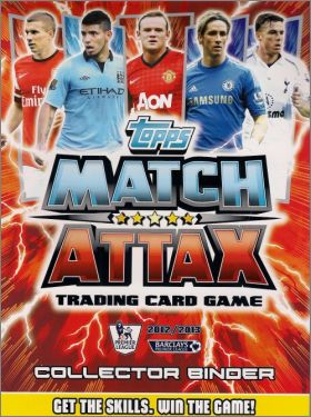 Match Attax Premier League 2012 / 2013 - Trading Cards Game