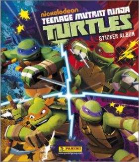 Teenage Mutant Ninja Turtles - Sticker Album Panini - 2013