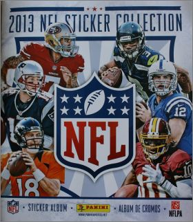 NFL 2013 sticker collection  -  Panini - USA -  Canada