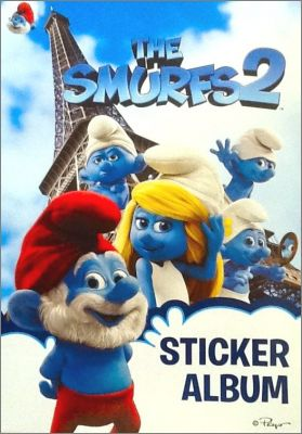The Smurfs 2  - Stickers Giromax - Espagne - 2013