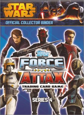 Star Wars Force Attax series 4 - Tradings cards - Anglais